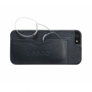 seeoo light Zwickerbrille + iPhone Cover - petrol