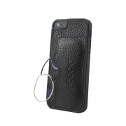 seeoo light Zwickerbrille + iPhone Cover - schwarz